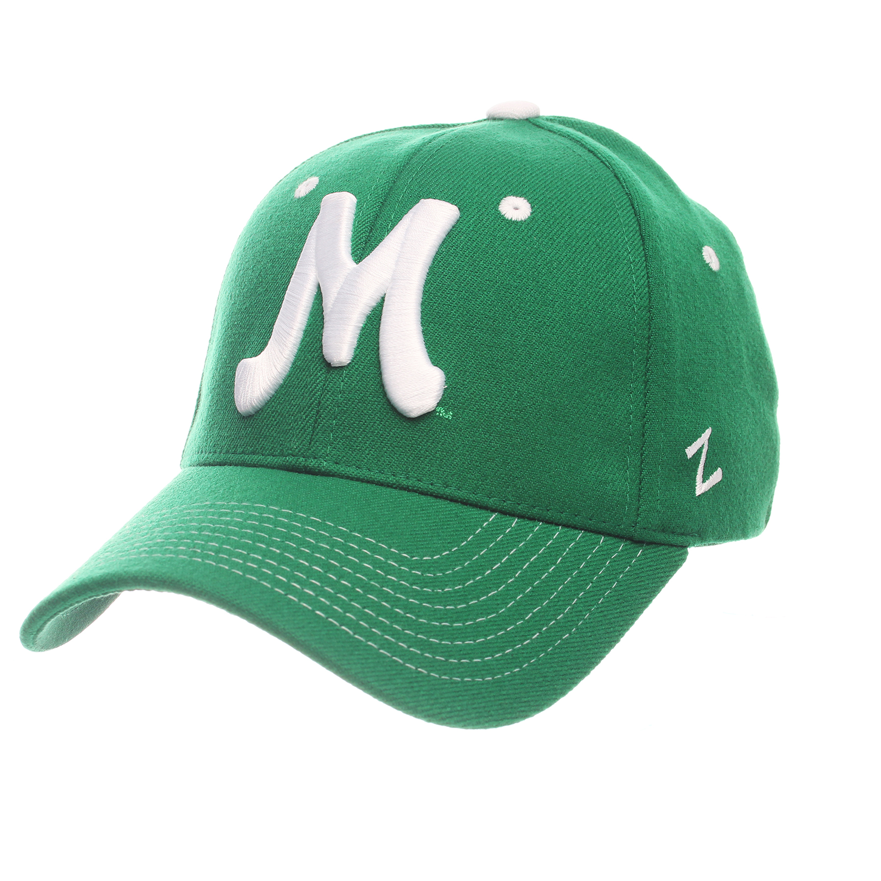 Retro M Fitted Hat <BR> 27710 <BR> $21.99