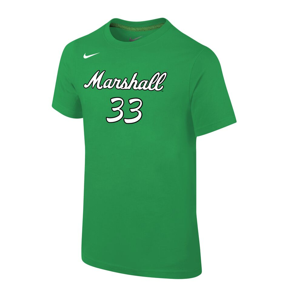 MU Elmore 33 Basketball Shirt Green <br>