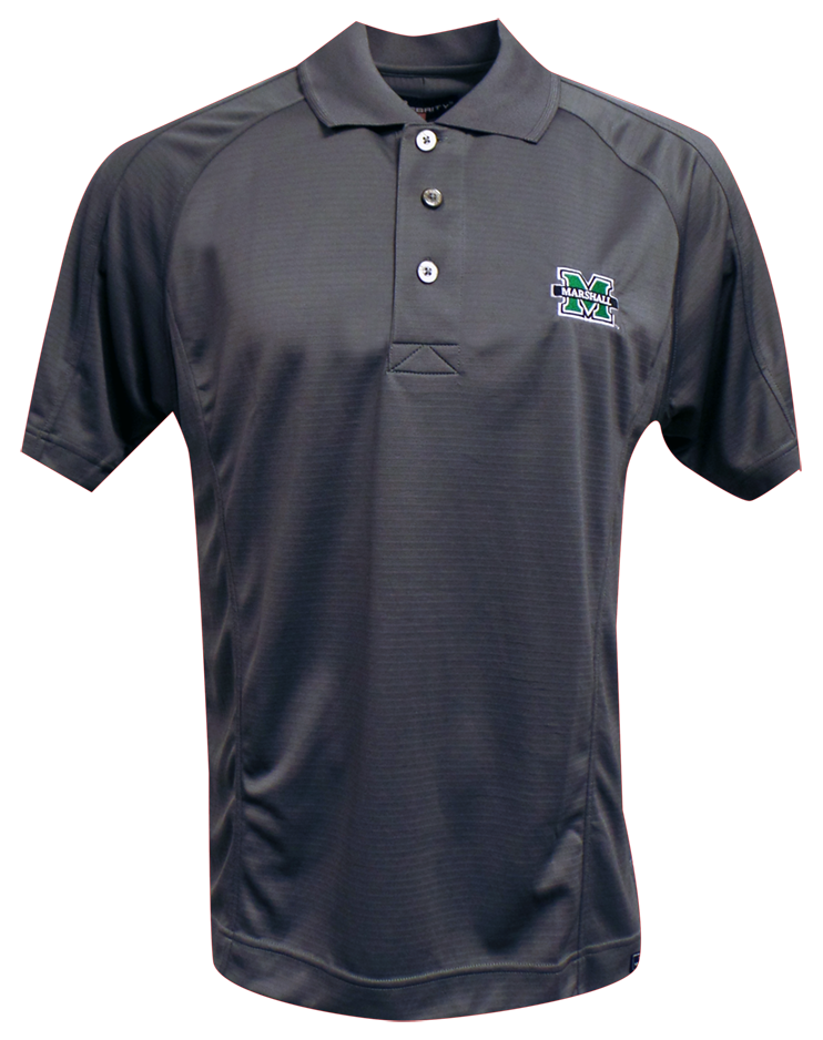 3165 <br>MU EMPIRE POLO  <br>in CHARCOAL <br>$44.99